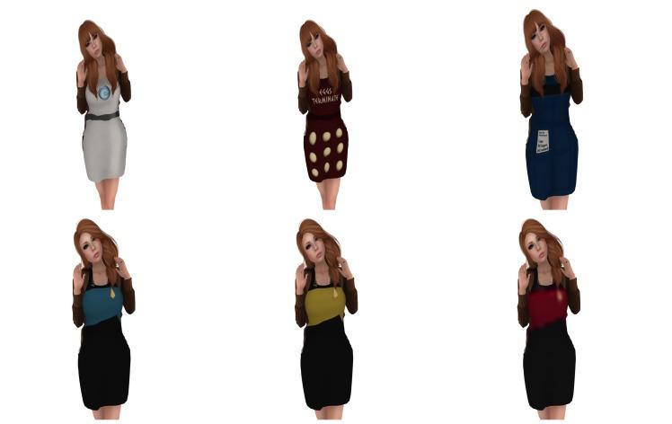 apron collage